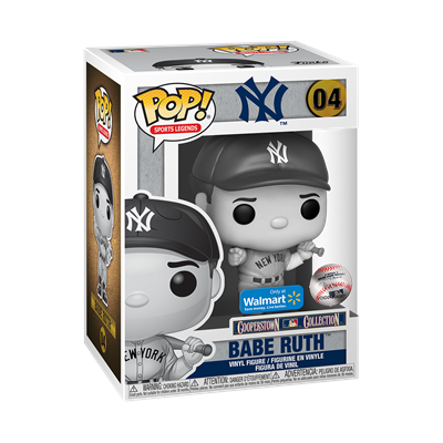 Funko Pop! Sports Legends Babe Ruth (Pointing) (Black & White) Stock