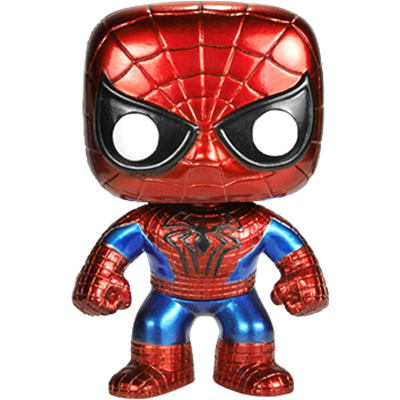 Funko Pop! Marvel Spider-Man (The Amazing Spider-Man 2) (Metallic)
