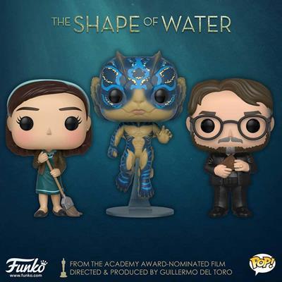 Funko Pop! Movies Amphibian Man (Glow) - CHASE