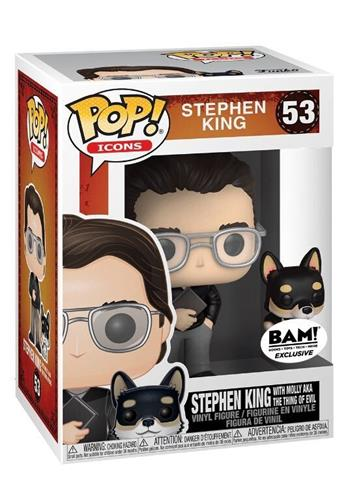 Funko Pop! Icons Stephen King with Molly aka The Thing of Evil Stock