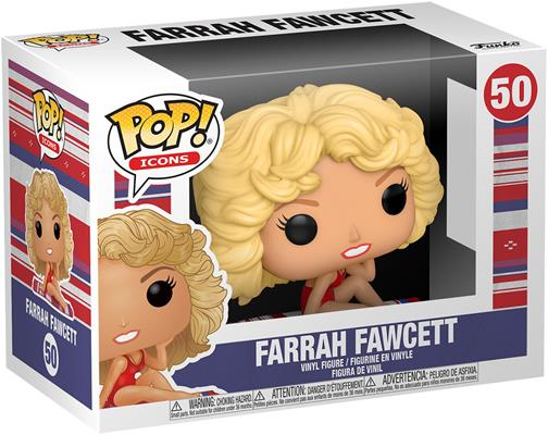 Funko Pop! Icons Farrah Fawcett Stock Thumb