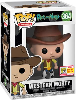 Funko Pop! Animation Morty (Western) Stock Thumb