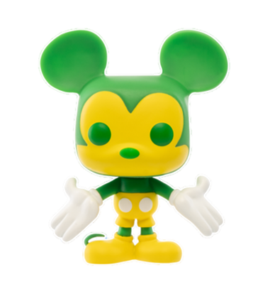 Funko Pop! Disney Mickey Mouse (Colorway - Green/Yellow)