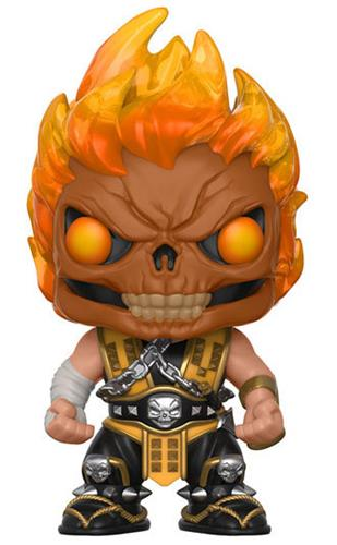 Funko Pop! Games Scorpion (Flaming Skull)
