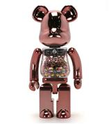 Be@rbrick My First B@by Be@rbrick Pink & Gold Baby 1000%