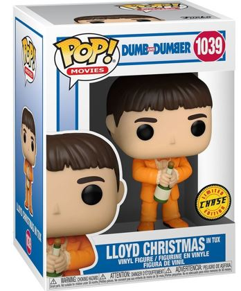 Funko Pop! Movies Lloyd Christmas in Tux (Chase) Stock