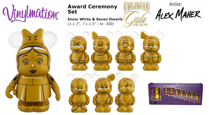 Vinylmation Open And Misc Imagination Gala Snow White and the Seven Dwarfs