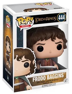 Funko Pop! Movies Frodo Baggins Stock Thumb