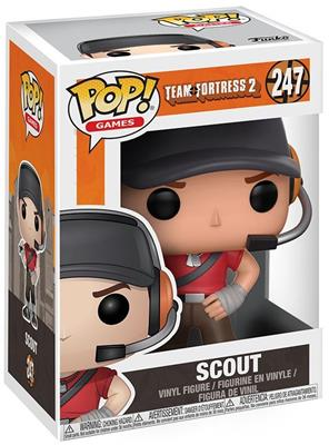 Funko Pop! Games Scout Stock