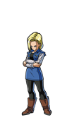 FiGPin Dragon Ball FighterZ Android 18