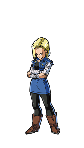 FiGPin Dragon Ball FighterZ Android 18 Icon