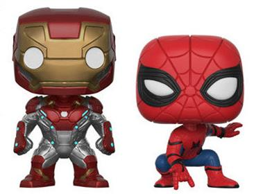 Funko Pop! Marvel Iron Man / Spider-Man (2 Pack)