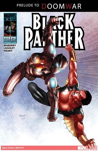Marvel Comics Black Panther (2008 - 2010) Black Panther (2008) #11