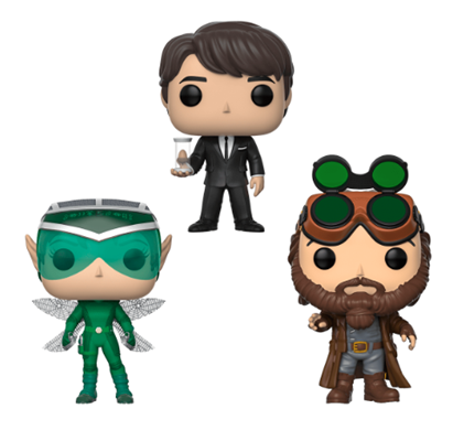 Funko Pop! Disney Holly Short, Artemis Fowl, Mulch Diggems (3-Pack)