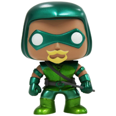 Funko Pop! Heroes Green Arrow (Metallic)