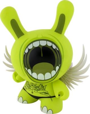 "Kid Robot 8"" Dunnys Big Mouth (Green)"