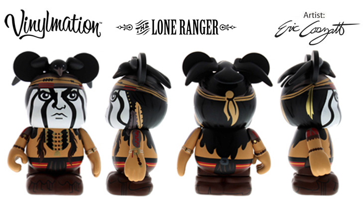 Vinylmation Open And Misc Lone Ranger Tonto