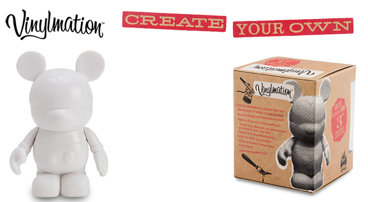 Vinylmation Open And Misc Create Your Own White