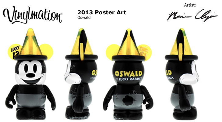 Vinylmation Open And Misc 2013 Poster Art Oswald