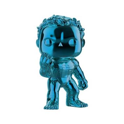 Funko Pop! Marvel Hulk Chrome (Blue)