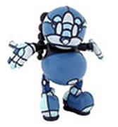 Kid Robot Art Figures Kon Artis (Blue)