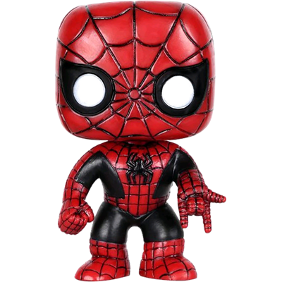 Funko Pop! Marvel Spider-Man (Red & Black)