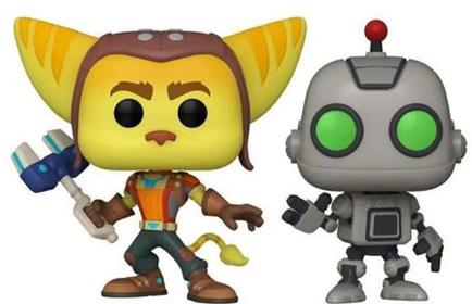 Funko Pop! Games Ratchet & Clank (2-Pack)
