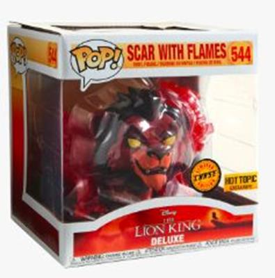 Funko Pop! Disney Scar with Flames (Chase/Red) Stock