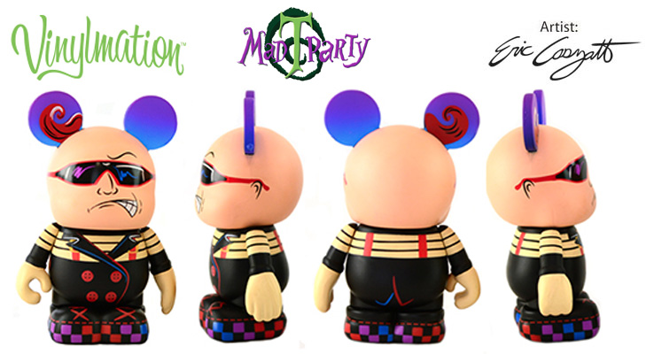 Vinylmation Open And Misc Mad T Party Tweedle Dee