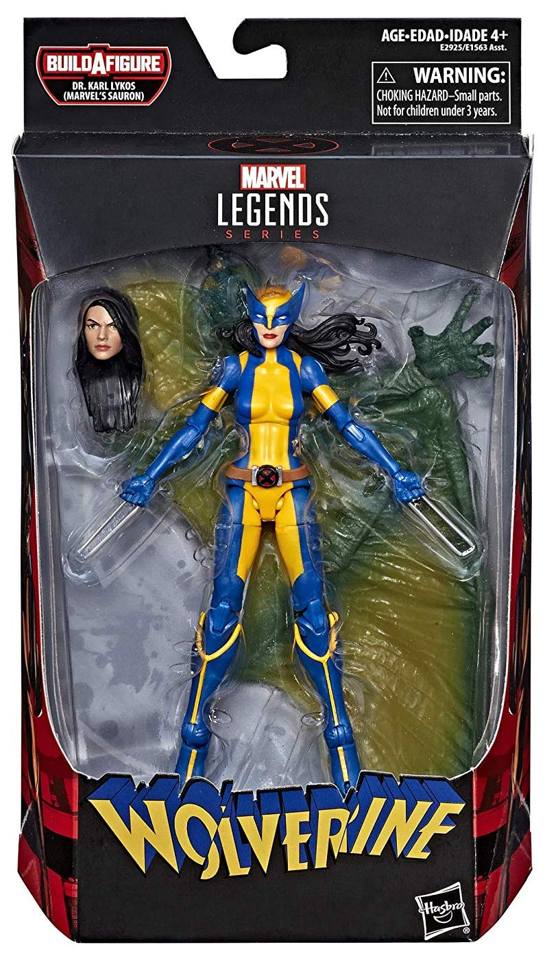Marvel Legends Sauron Series Wolverine