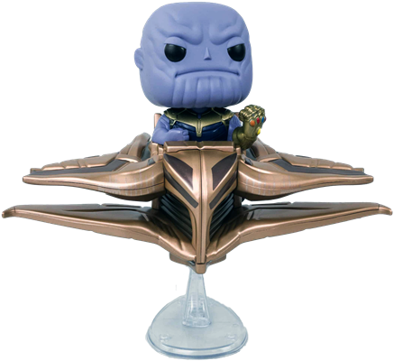 Funko Pop! Marvel Thanos w/ Sanctuary 2