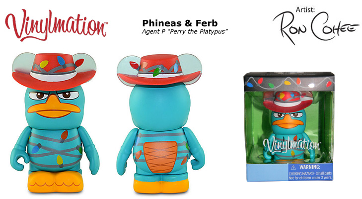 Vinylmation Open And Misc Holiday Agent P