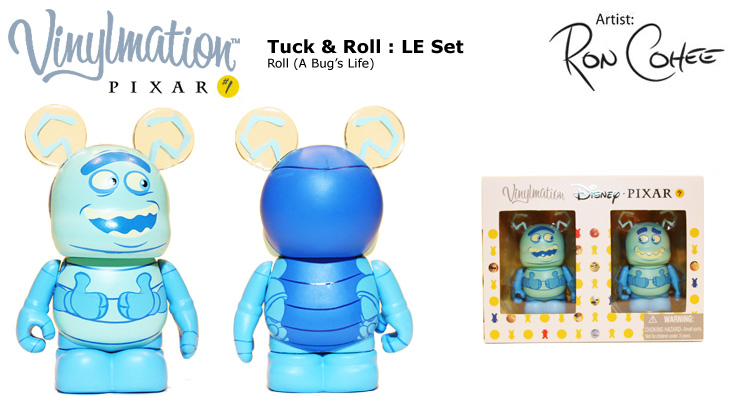 Vinylmation Open And Misc Tuck / Roll Roll