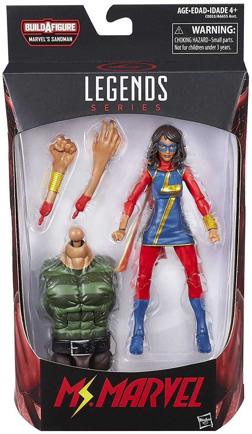 Marvel Legends Sandman Series Ms. Marvel