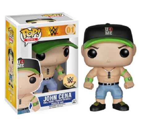 Funko Pop! Wrestling John Cena (Black Hat) Stock