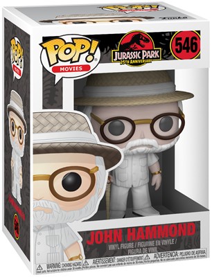 Funko Pop! Movies John Hammond Stock