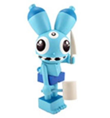 Kid Robot Art Figures Space Monkey: Blue Stock