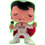 Funko Pop! Rocks Elvis (1970's) - Glow Chase