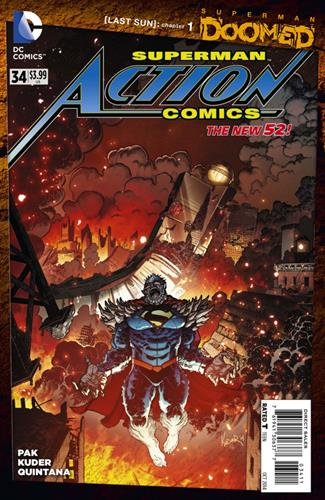 DC Comics Action Comics (2011 - 2016) Action Comics (2011) #34 Stock