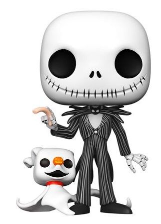 Funko Pop! Disney Jack Skellington with Zero (10 inch)