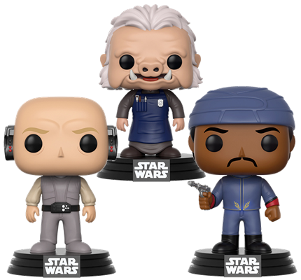 Funko Pop! Star Wars Cloud City (3-Pack)