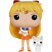 Funko Pop! Animation Sailor Venus (w/ Artemis)