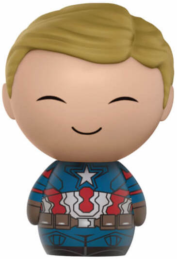 Dorbz Marvel Captain America (Civil War) - Unmasked