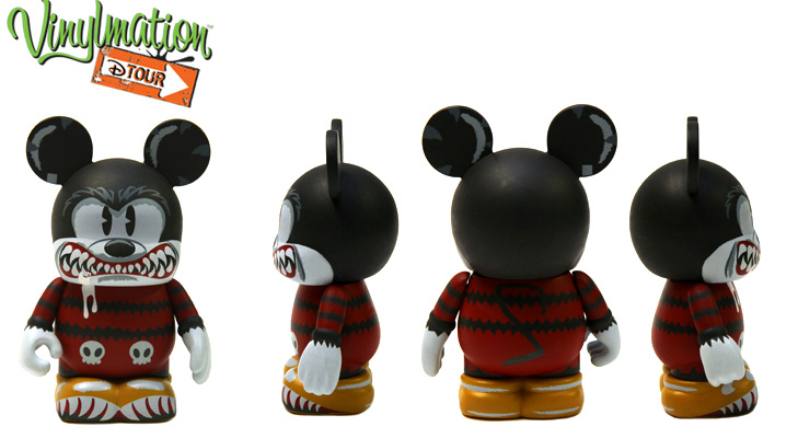 Vinylmation Open And Misc D-Tour Monster