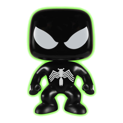 Funko Pop! Marvel Spider-Man (Black Suit) (Glow in the Dark)