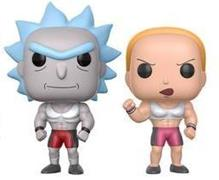 Funko Pop! Animation Buff Rick & Buff Summer (2-Pack)