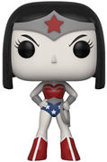 Funko Pop! Television Raven as Wonder Woman (B&W)