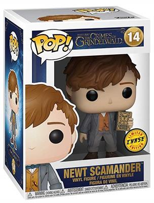Funko Pop! Fantastic Beasts Newt Scamander (Chase) Stock