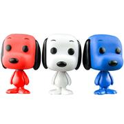 Funko Pop! Minis Snoopy (Patriot) (3 Pack)