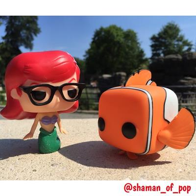 Funko Pop! Disney Ariel (Hipster) shaman_of_pop on instagram.com